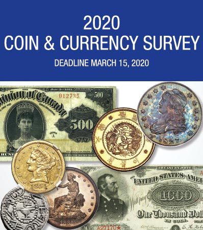2019 Coin and Currency Survey