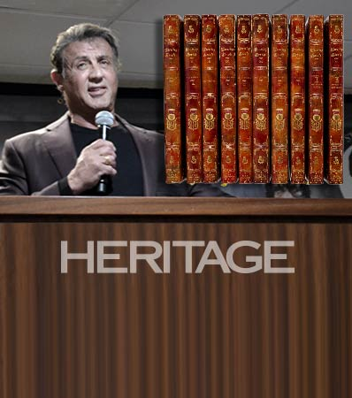 Stallone and his Rare and Collectible Books