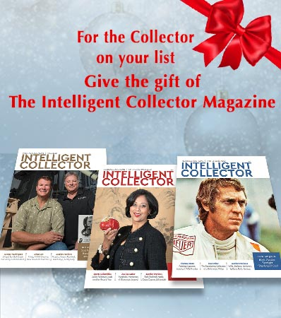 Give the gift of The Intelligent Collector Magazine