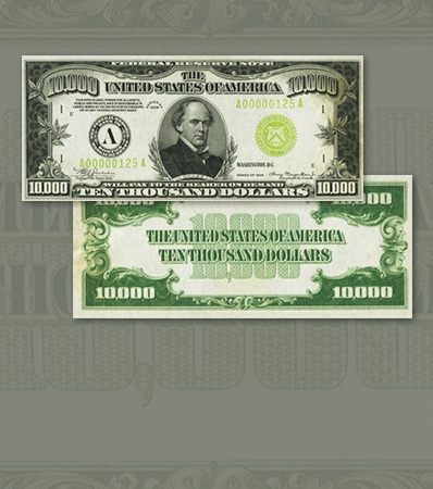 Fr. 2231-A $10,000 1934 Federal Reserve Note. PMG Choice Uncirculated 64 EPQ