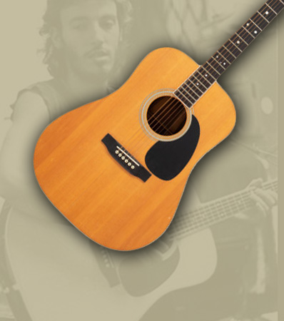 The Birth of 'The Boss' Bruce Springsteen - 1965 Martin D-35 Natural Acoustic Guitar, Serial #204591