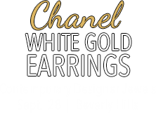Featured Sept 28 Jewelry Signature Auction #5232 - Chanel Errings