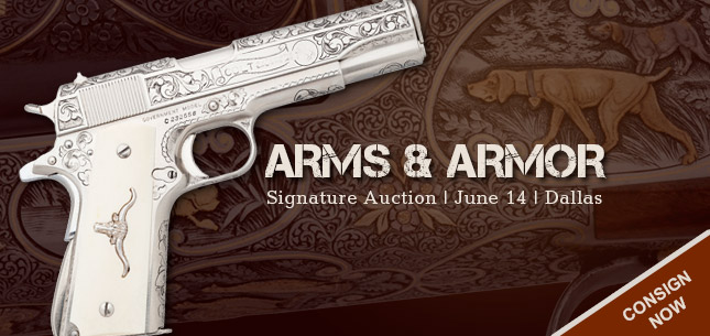 2015 June 14 Arms & Armor Signature Auction - Dallas #6140