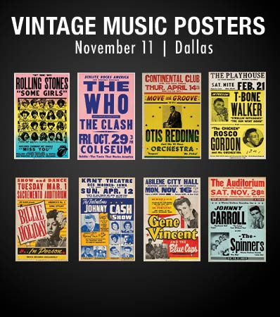 Vintage Music Posters