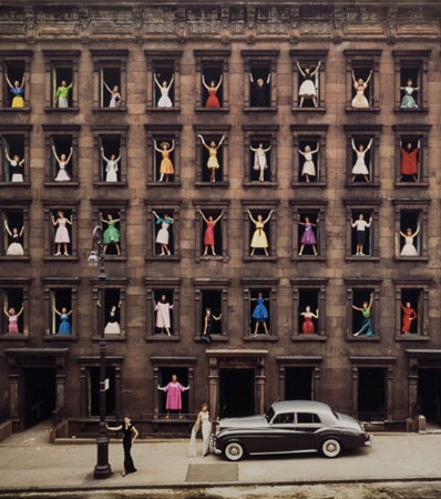 Ormond Gigli (American, b. 1925)Girls in the Windows, New York City , 1960