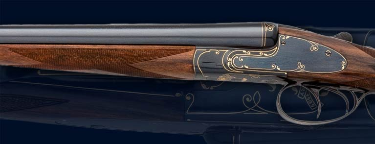 Leather Hard-cased Fn Browning 16 Ga. Sxs Db Shotgun, Model 1889-1989 Centenary Edition