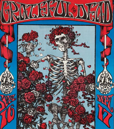 Grateful Dead Concert Poster First Printing Signed By Mouse & Kelley FD-26 (Family Dog, 1966)