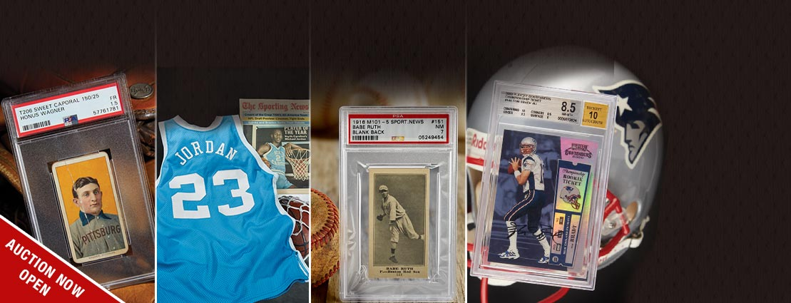 Featured Sports Collectibles