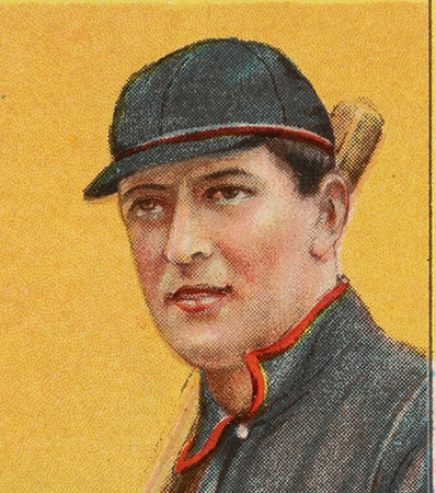1909-11 T206 Sweet Caporal 350/30 Vic Willis (With Bat) PSA Mint 9 - Pop One, None Higher!