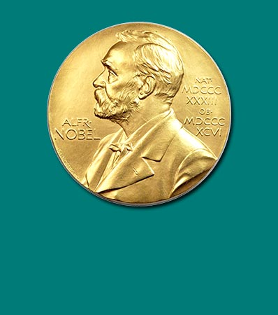 Sweden: Nobel Prize Gold Award Medal to Walther Bothe for Advancements in Physics 1954