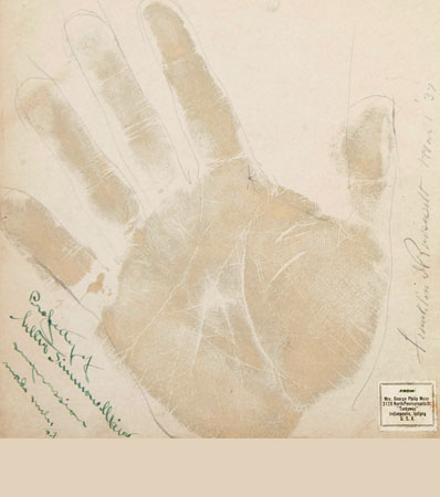 Secret Palmistry Readings for President Franklin and Eleanor Roosevelt May Bring $20,000 in Dec. 2 Americana Auction