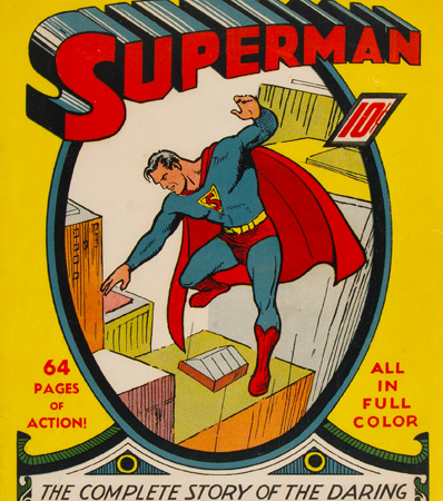 Superman #1 (DC, 1939) CGC VG/FN 5.0 Off-white pages