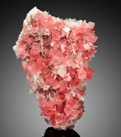 Rhodochrosite with QuartzHedgehog Pocket, Sweet Home Mine