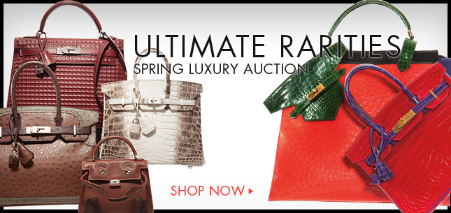 Ultimate Rarities Spring Luxury Auction - Shop Now