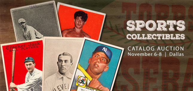 2014 November 6 - 8 Sports Catalog Auction - Dallas #7120
