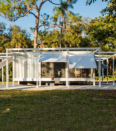 Paul Rudolph | The Walker Guest House Full-Scale Replica, designed 1952-1953