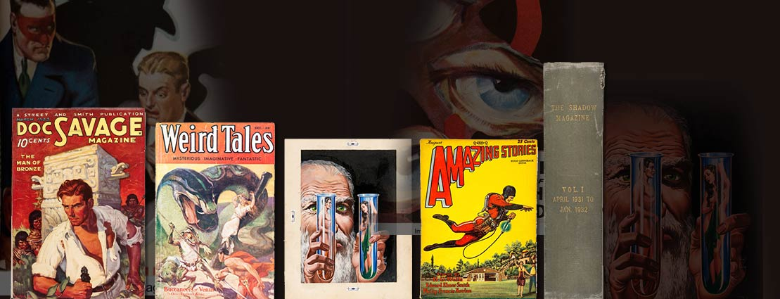 The Amazing Pulps and Collectibles Comics