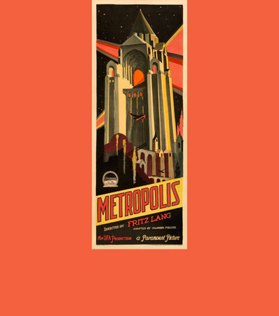 Metropolis (Paramount/UFA, 1927). Very Good/Fine on Paper