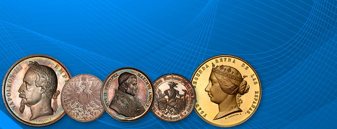 Featured Coins of World Medals