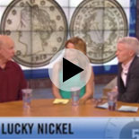 Heritage President Greg Rohan and Ryan Givens on the ANDERSON LIVE show, discussing the 1913 Nickel with Heritage client, Anderson Cooper
