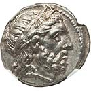 Lovely Philip II of Macedon tetradrachm